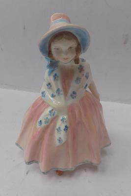Royal Doulton 'Lily' figure, 5 inches tall, issued 1936 - 1971 - HN 1798
