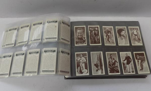Pack of full sets of cigarette cards