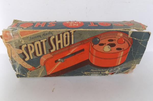 Spot Shot vintage American game in box