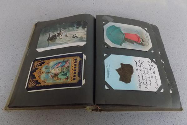 1920s songcards/postcards album x approx. 107