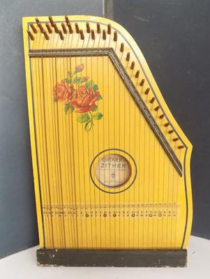 Vintage guitar-zither