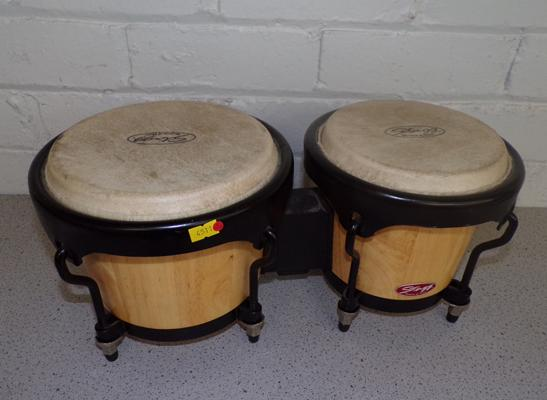 Stagg percussion drums/bongos