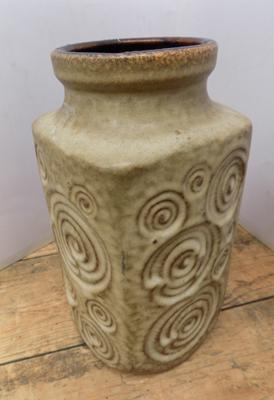West German vase-no damage 9 inches high