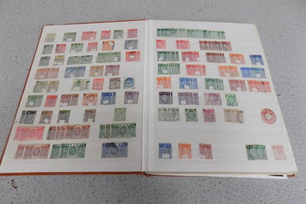 Stockbook of GB stamps from Queen Victoria, 20 - 40