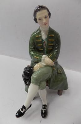 Royal Doulton 'Gentleman from Williamsburg', HN2227, 6 1/4 inches tall, issued 1960 - 1983