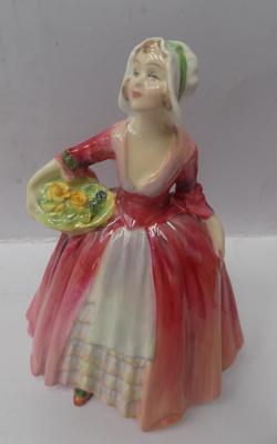 Royal Doulton 'Janet' HN 1537, 6 1/4 inches tall, issued 1932-1995