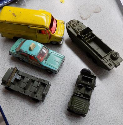 Selection of Dinky's diecast vehicles