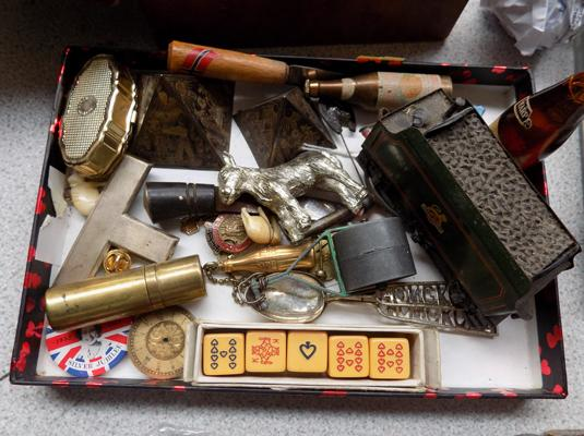 Tray of mixed collectables inc vintage items