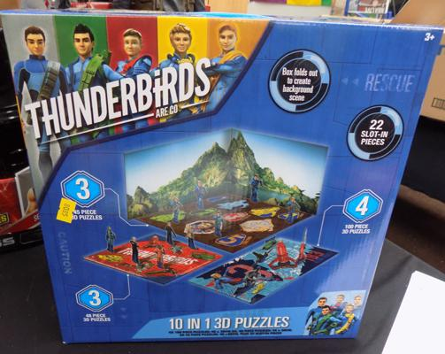 New 'Thunderbirds Are Go' 3D puzzle set
