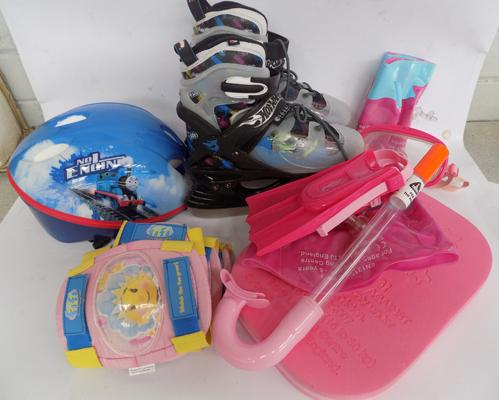 Selection of children's outdoor accessories