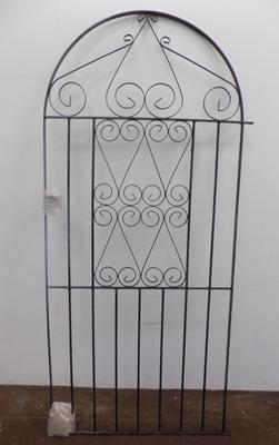 Unused wrought iron gate 6 foot x 3 foot