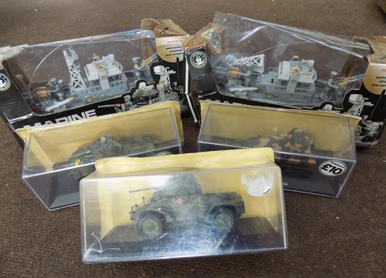 Selection of toys inc new & marine vehicles